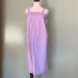 Vintage Sears Purple Summer Nighty/ summer dress